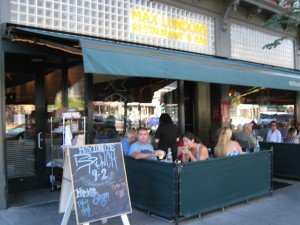 Max London's on Saratoga Springs' busy Broadway