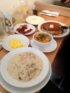Breakfast at egg: a medley of delicious comfort foods