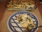 Pumpkin & Kale (or Spinach) Lasagna