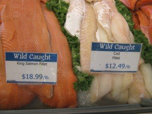 If the price is too good to be true, it probably is: $18.99/lb lends support that the fillet is truly wild caught King Salmon