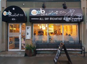 Where.CA, a Travel Planner for Canada, named OEB, Best Breakfast in Calgary