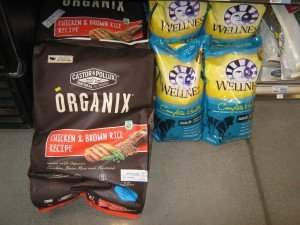 Kibble sold at the Honest Weight Food Co-op