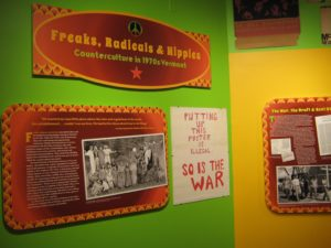 Freaks, Radicals and Hippies exhibit on display until September 2017