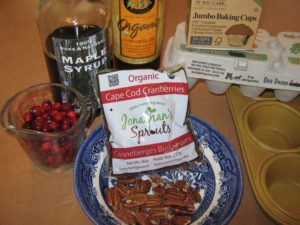 Organic Cape Cod cranberries, star ingredient forThanksgiving breakfast treat
