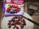A Sweet & Tart Evening Smoothie With Cherries
