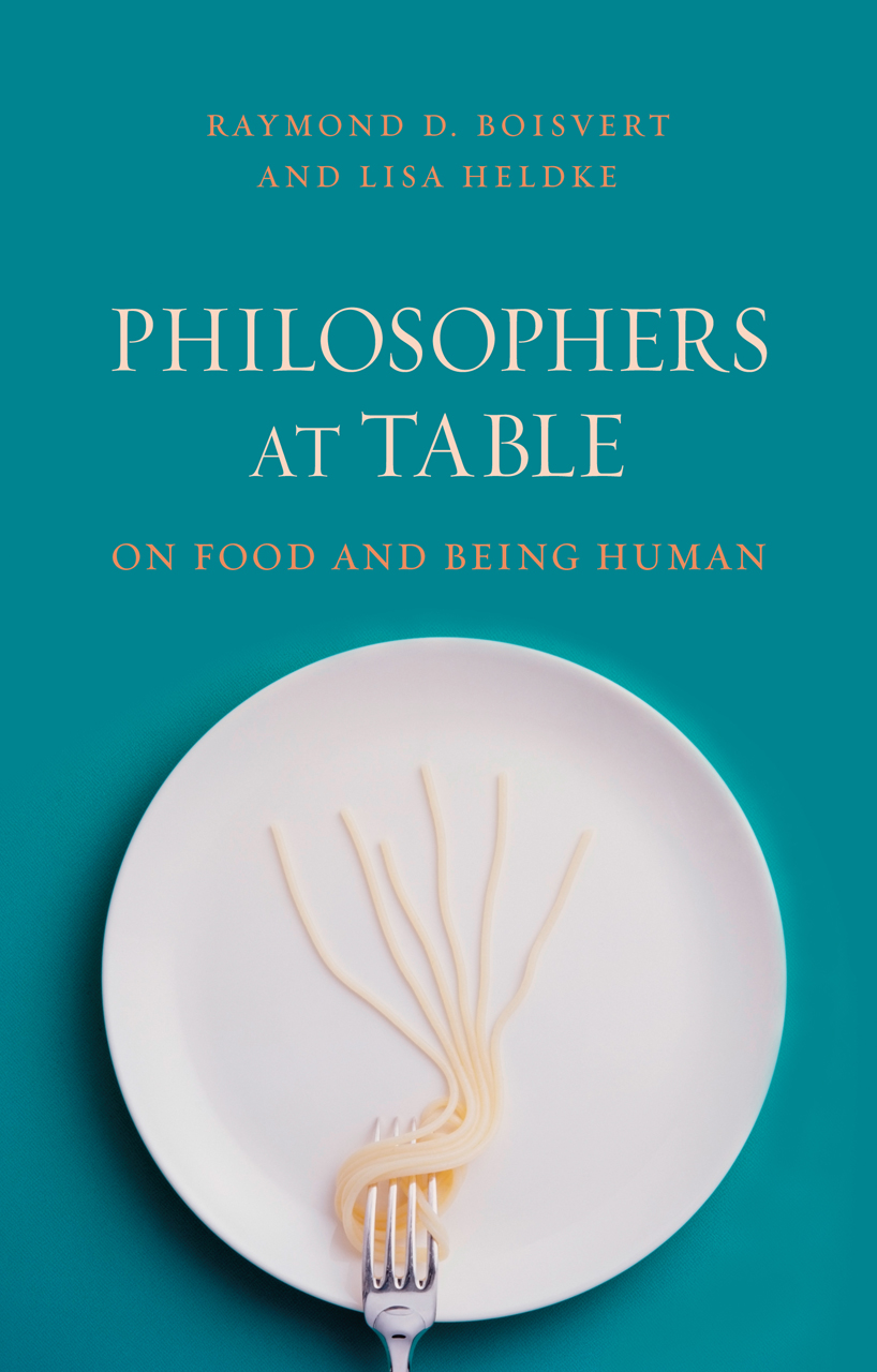 A Philosophy of Food Rooted In the Ethical Virtue of Hospitality