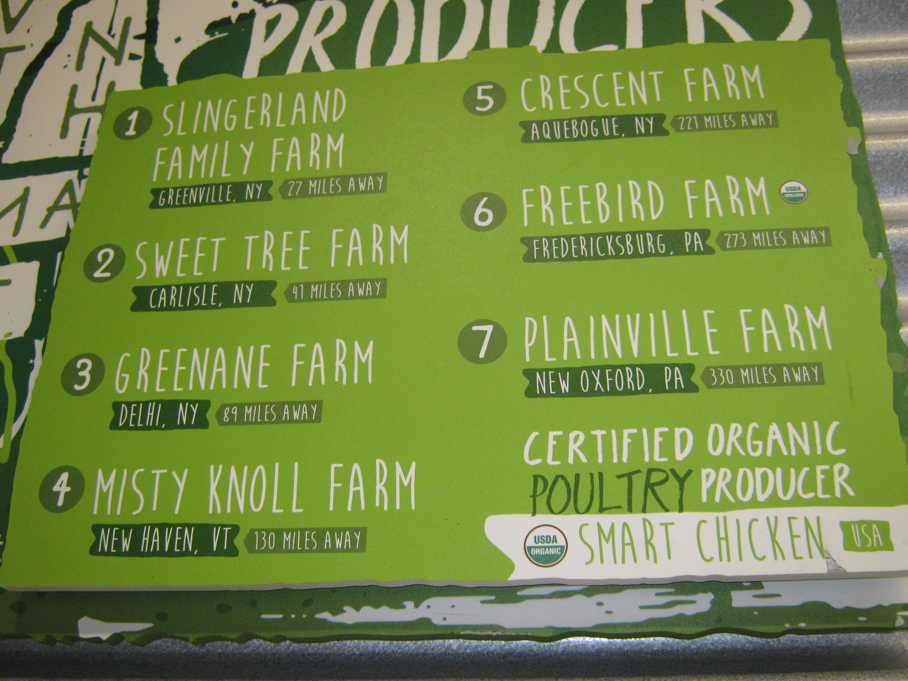 Smart Chicken's Industrial Scale Poultry Operations Muddies The Meaning of Organic For Food Co-op Consumers