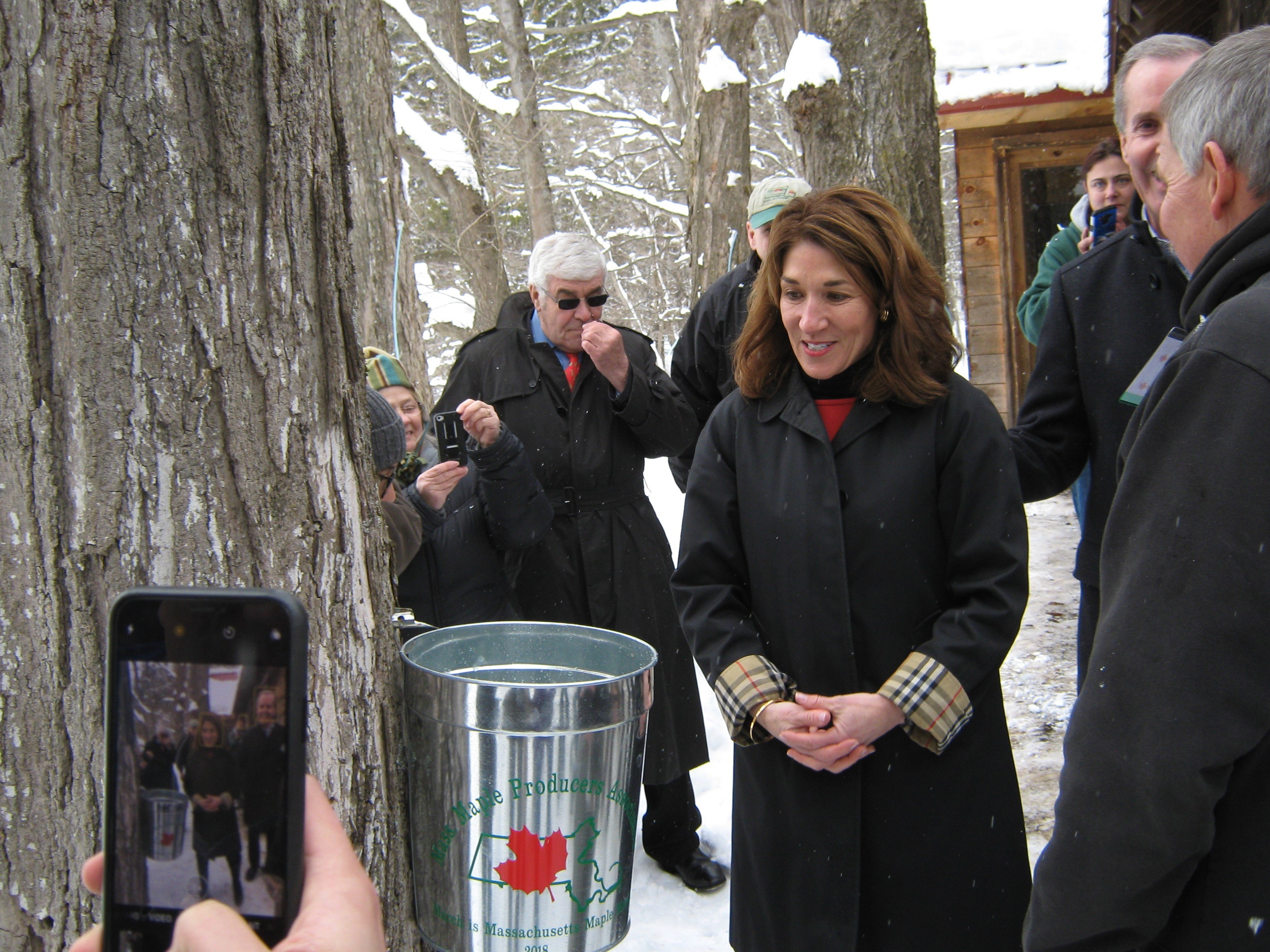 2018 Maple Sugaring Season Underway & Massachusetts Proclaims March as Maple Month in the Bay State