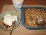Morning Apple Crumble, A Delicious Seasonal Treat For Late October