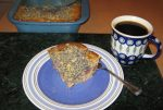 A Delicious Coffee Cake For A Mother's Day Brunch: Red Tart Cherry & Poppy Seed Yogurt Cake