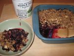 A Blueberry Crisp That's Easy To Make & Touted As Healthier