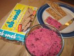 Sweet Red Beet Hummus: Healthy Snacking In The New Year